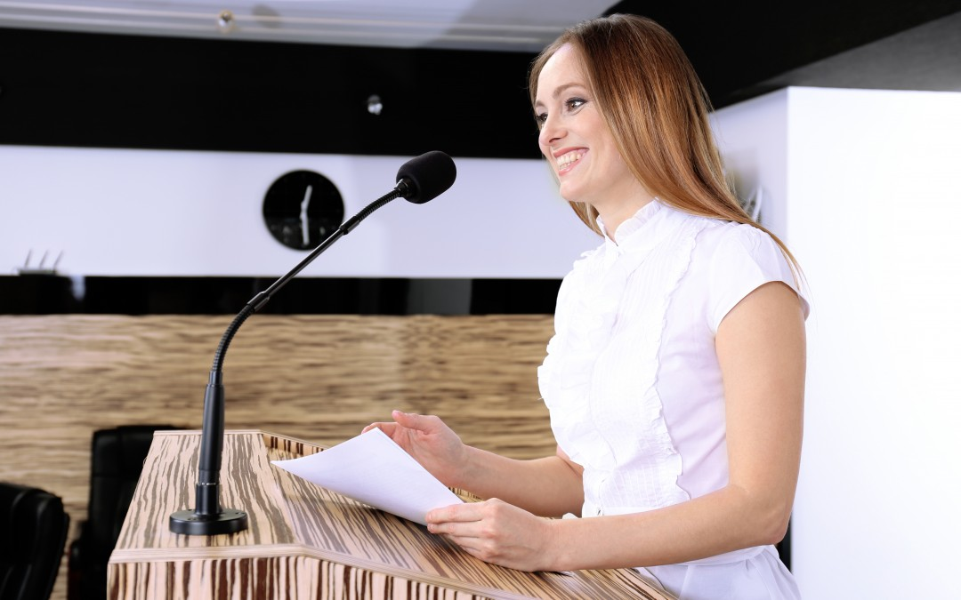 So, you need to write a speech… (Where do you start?)